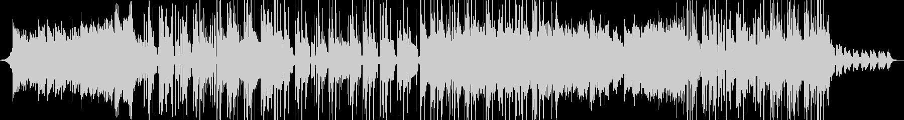 K-POP風のクールなポップスの未再生の波形