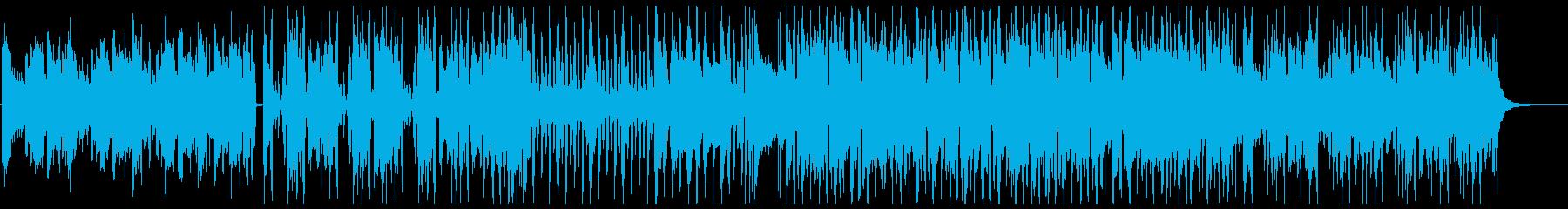 【CityPOP】落ち着いたポップBGMの再生済みの波形