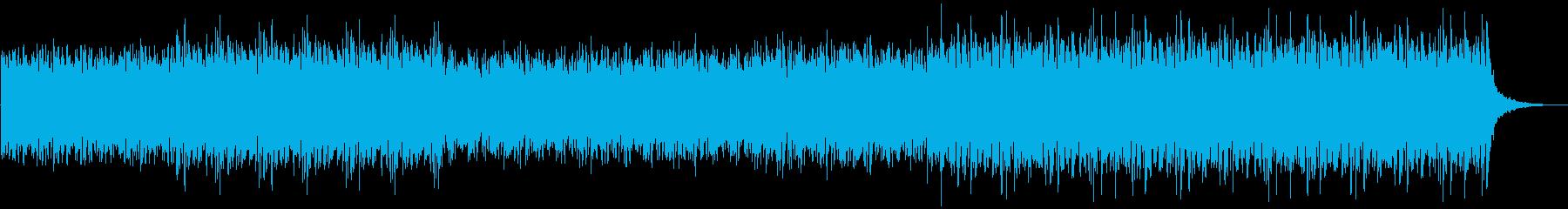 和太鼓とオーケストラの迫力あるBGMの再生済みの波形