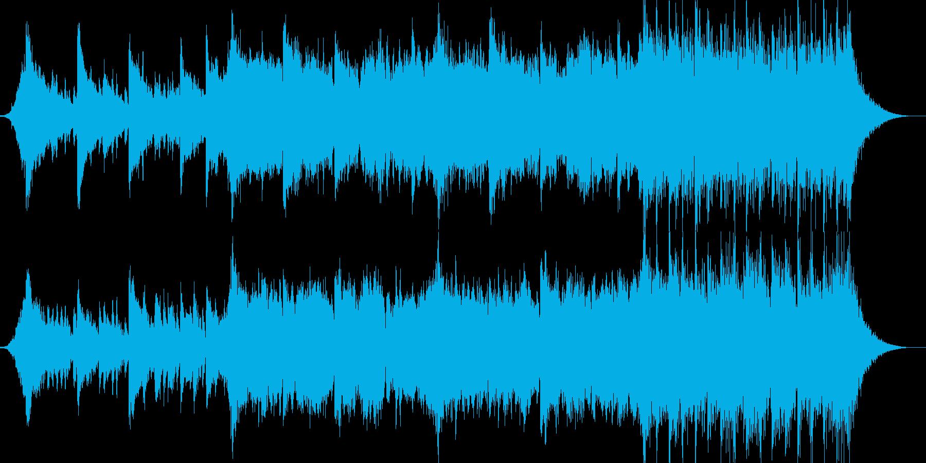 企業VPや映像41、壮大、オーケストラbの再生済みの波形