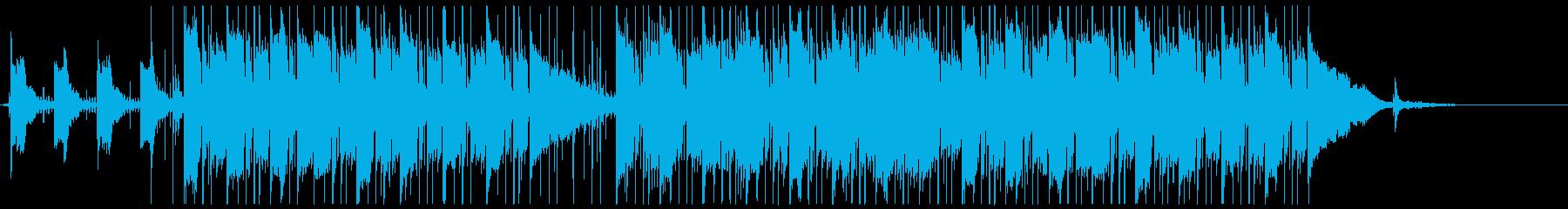 ピアノ旋律が美しい幻想的なバラードの再生済みの波形