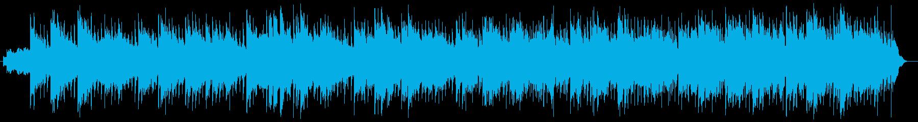 クールなインストルメンタルロックの再生済みの波形