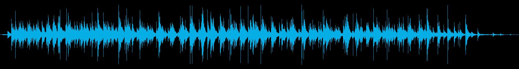小学生:7年生:Int:拍手の再生済みの波形