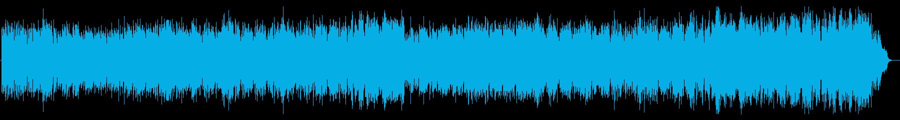 室内楽のボサノバの再生済みの波形