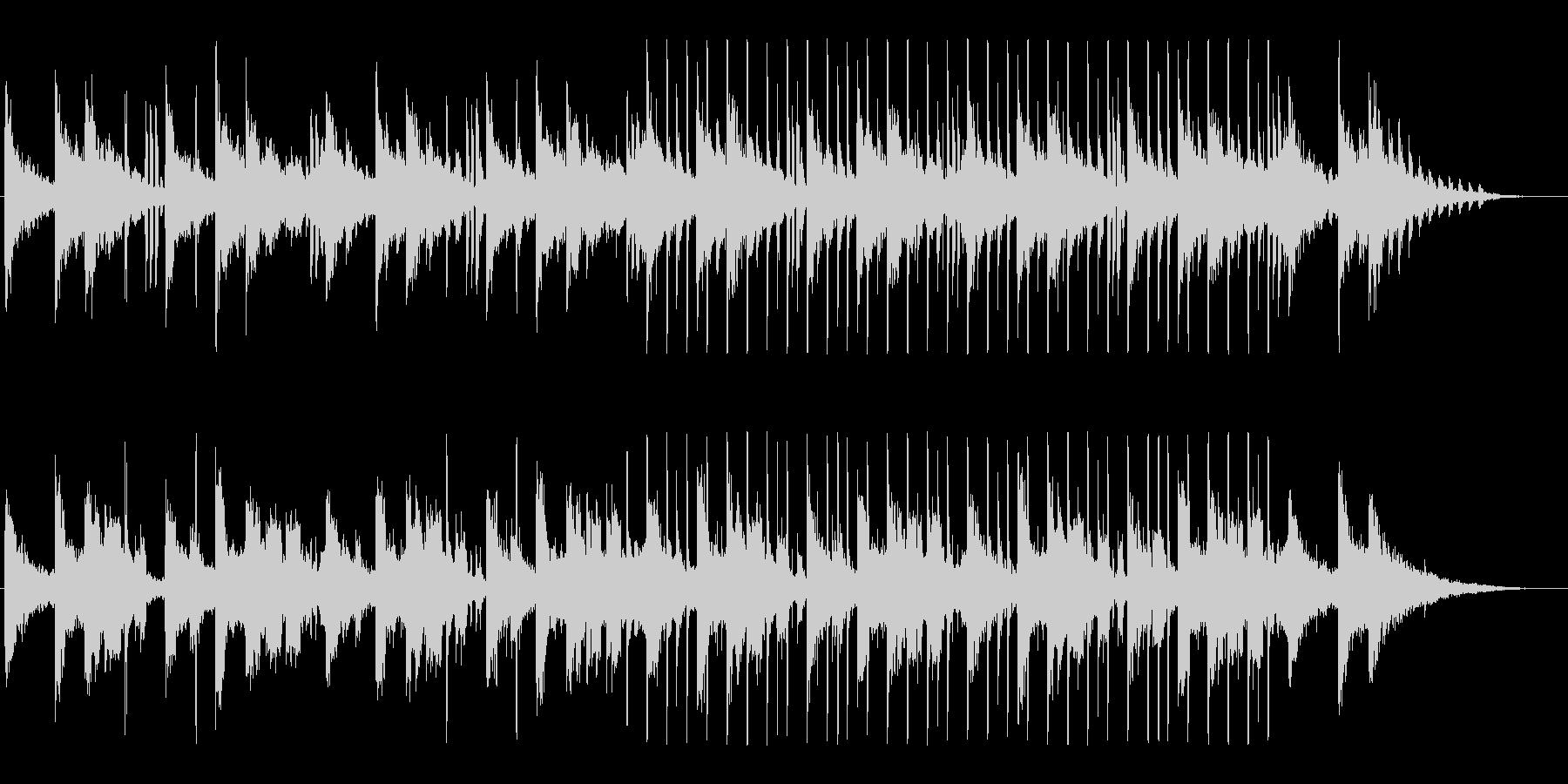 モダン&クリーン、幻想的エレクトロニックの未再生の波形