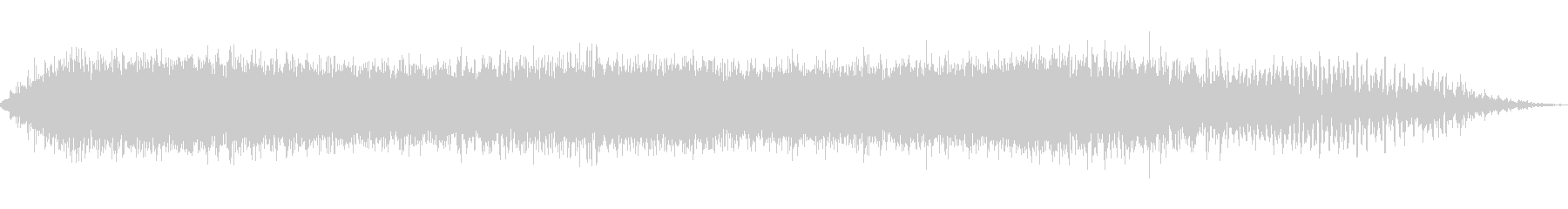 大きなうなり声2の未再生の波形