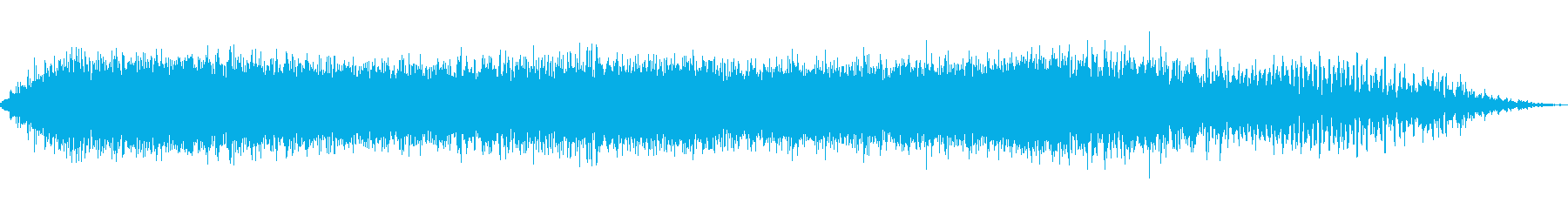 大きなうなり声2の再生済みの波形