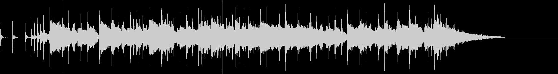 バウンドサウンド邦ロック風OP用BGMの未再生の波形
