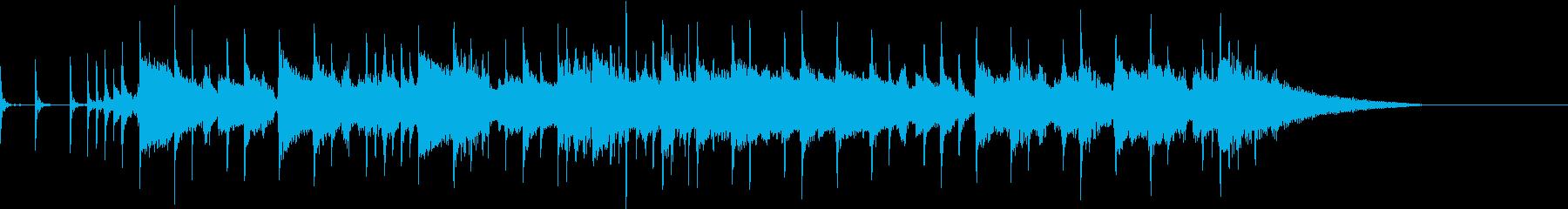 バウンドサウンド邦ロック風OP用BGMの再生済みの波形
