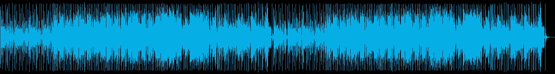 YouTube エレキ・ファンク・軽快の再生済みの波形