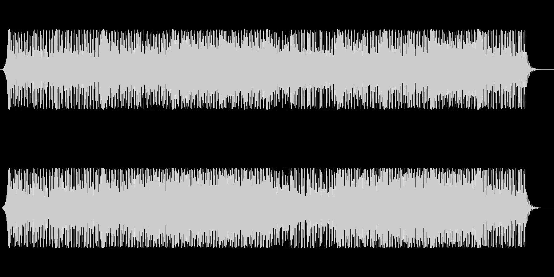 【爽やか】企業VP、ギターとピアノ透明感の未再生の波形