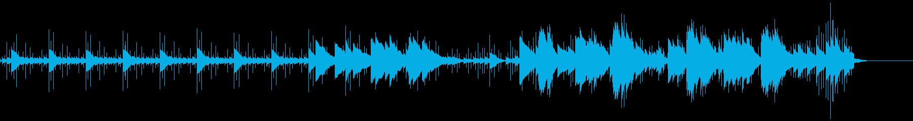 オルゴールなエレクトロニカの再生済みの波形