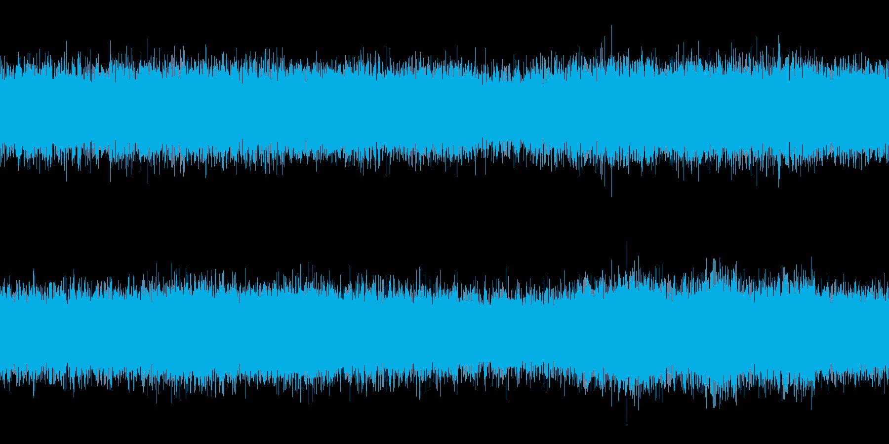 【生録音】ループで使える夏の虫の声 4の再生済みの波形