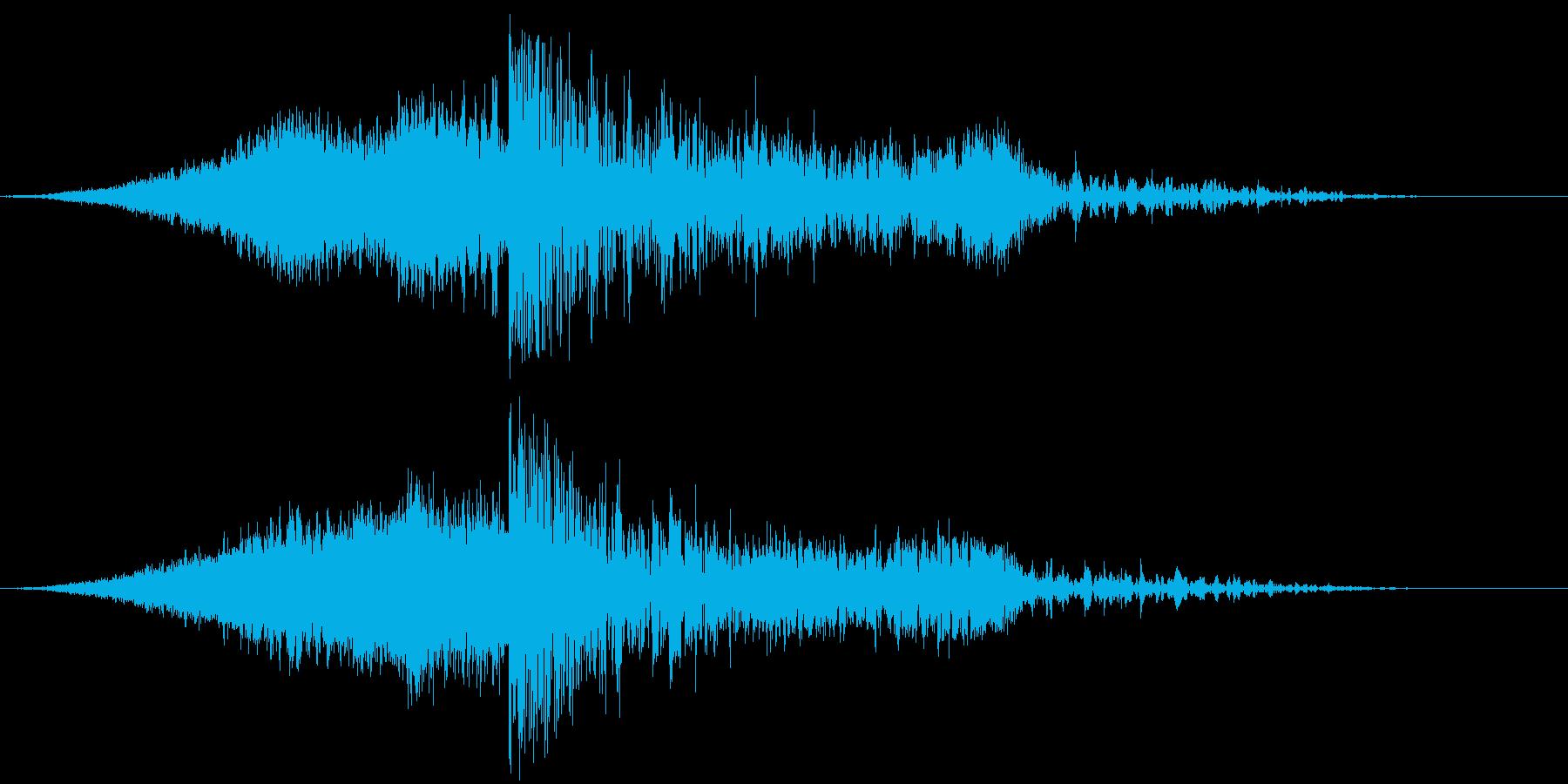 【映画】タイトル_06 ダークエピックの再生済みの波形