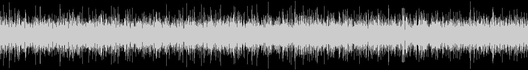 ザァー(AMラジオのノイズB)ループ処理の未再生の波形