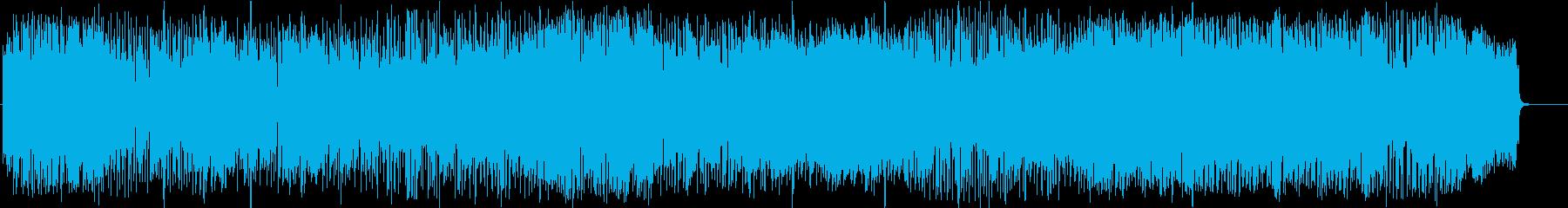 軽快なポップス調の覚えやすいメロディの再生済みの波形
