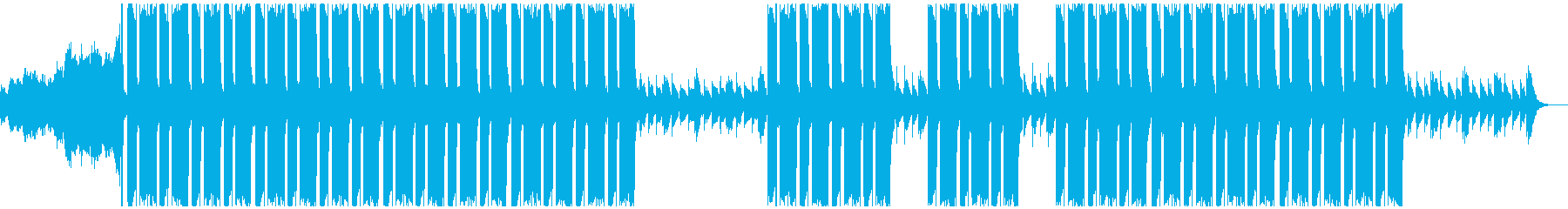 ホラートラップビートの再生済みの波形
