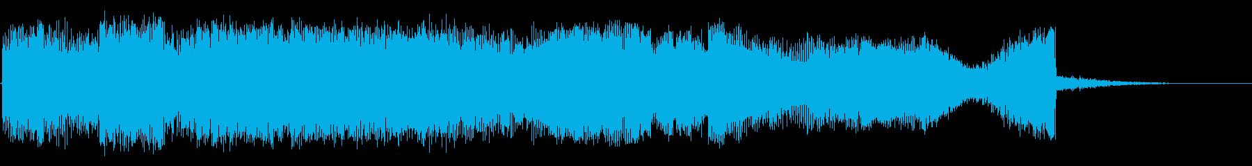 メロードラマの再生済みの波形
