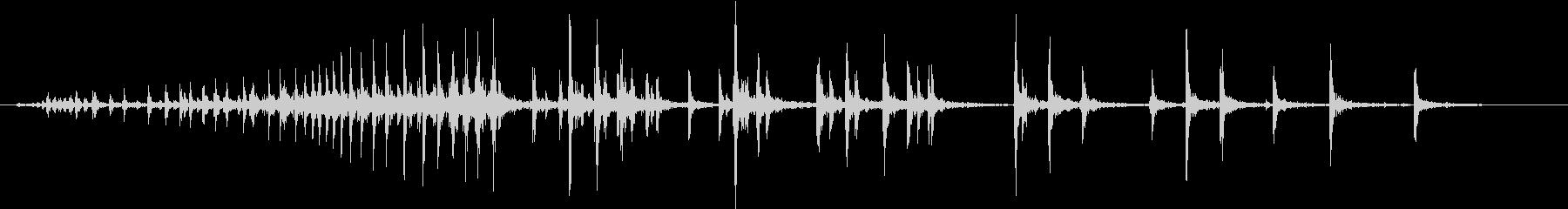 【生録音】握る音 グリップ 1の未再生の波形