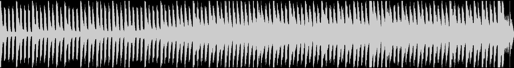 ピアノのゆったりした抑圧感を醸すループの未再生の波形