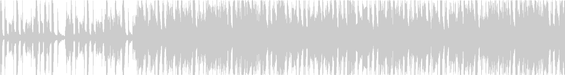 軽快なアコーディオンのカフェミュージックの未再生の波形
