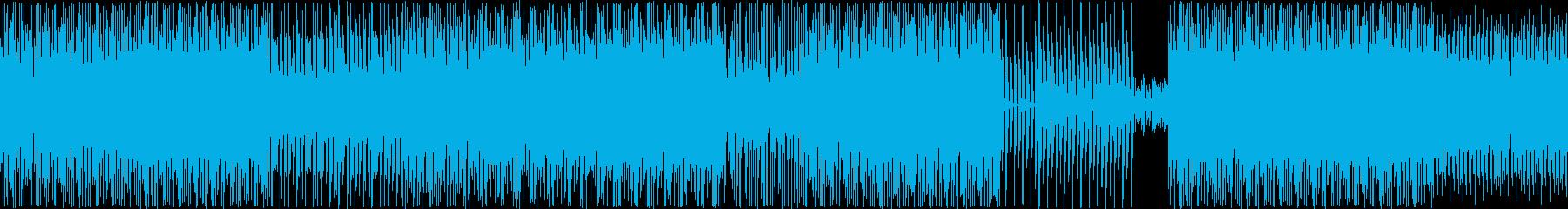 ギターフレーズが印象的なダンス系EDMの再生済みの波形