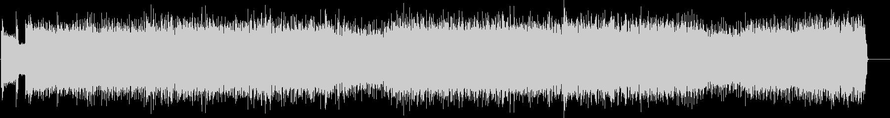 ドラマティックなマイナーハードロックの未再生の波形