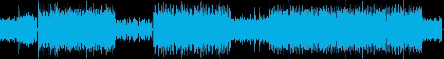迫力あるオーケストラ、ゲームBGM等にの再生済みの波形