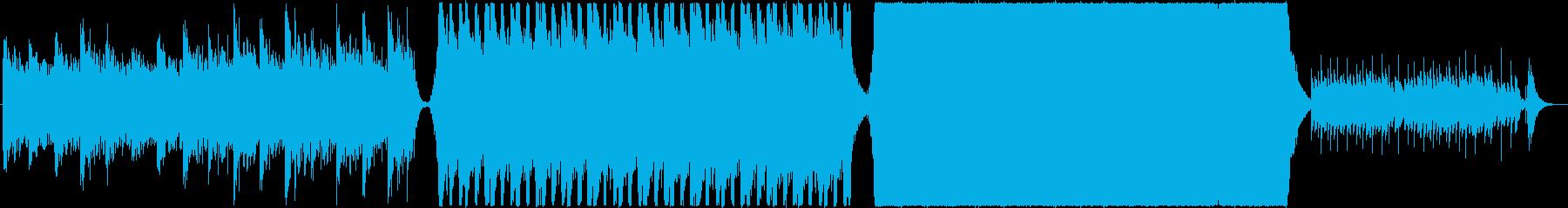 壮大・勇敢・映画・ハリウッド風トレーラーの再生済みの波形