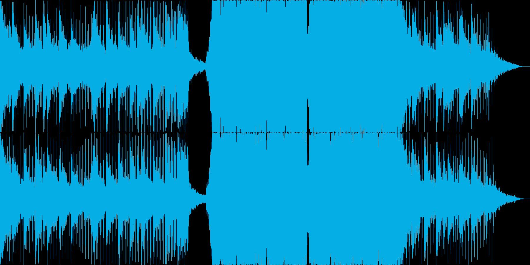 Liquid Dubstep新HALFの再生済みの波形