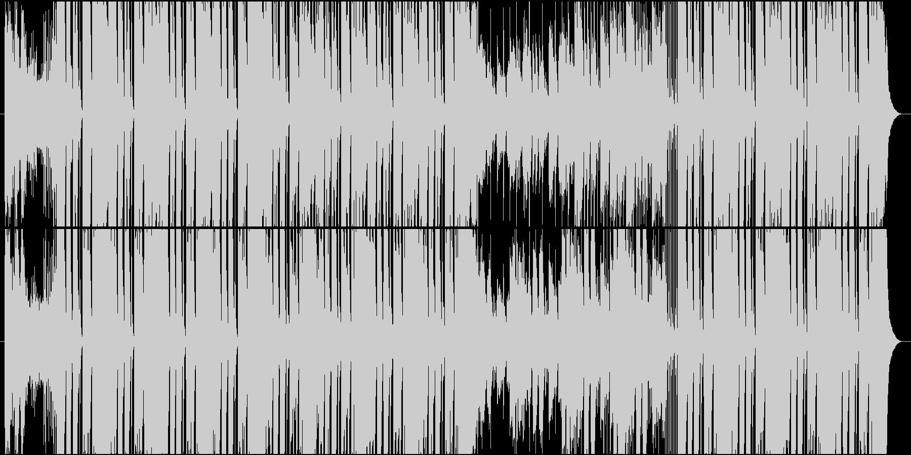 Hip Hop Background の未再生の波形