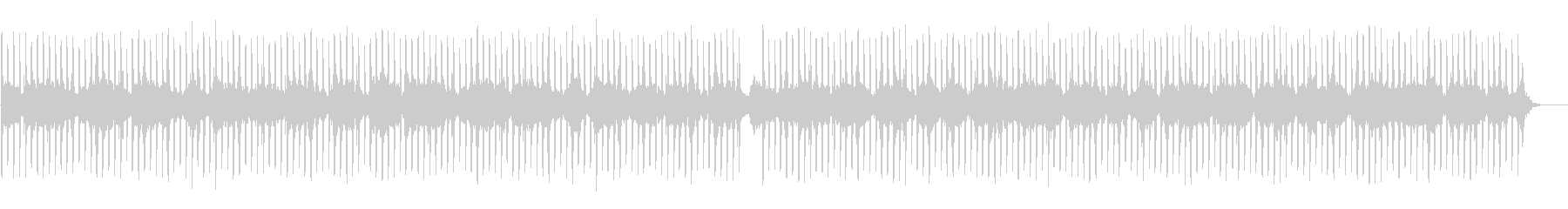カリンバのアンビエントEDMの未再生の波形