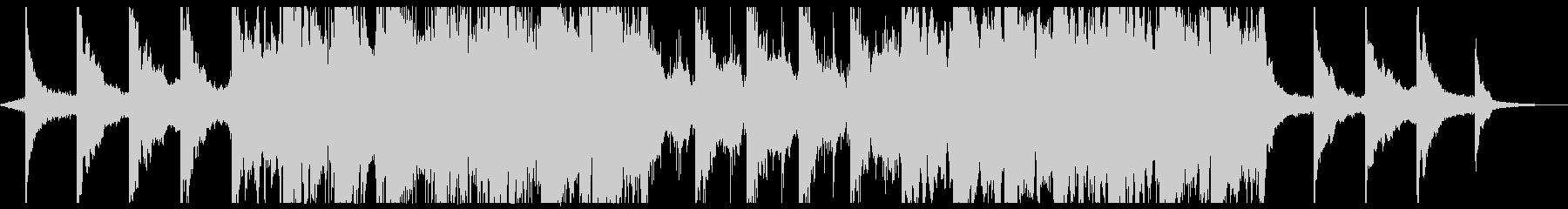 現代の交響曲 アンビエント 神経質...の未再生の波形