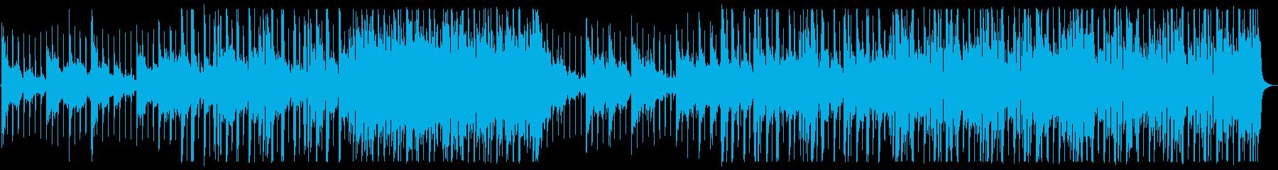 優しい雰囲気のR&B_No495_1の再生済みの波形