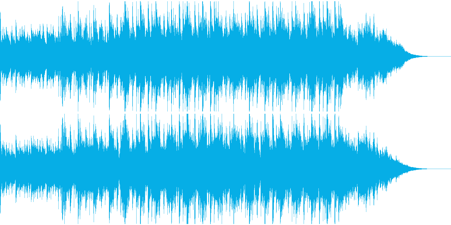 道がひらける「はじまりBGM」短いの再生済みの波形