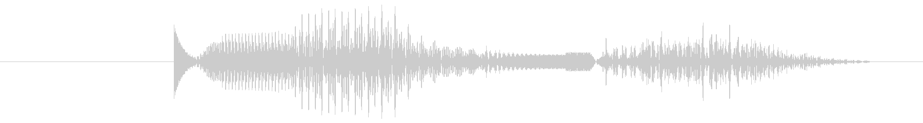 アーケード ビープポジティブ01の未再生の波形
