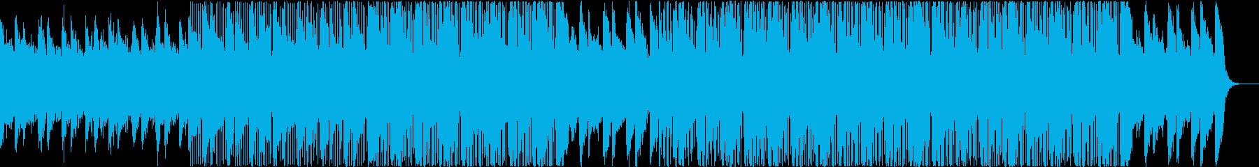 コーラス、ヒップホップ、ピアノ、おしゃれの再生済みの波形