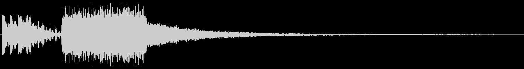 KANTバンド決め的ジングル2の未再生の波形