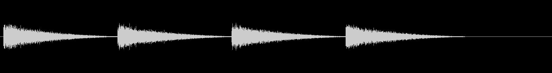 ゴーンゴーン/古時計の鐘/ホラー/ 03の未再生の波形