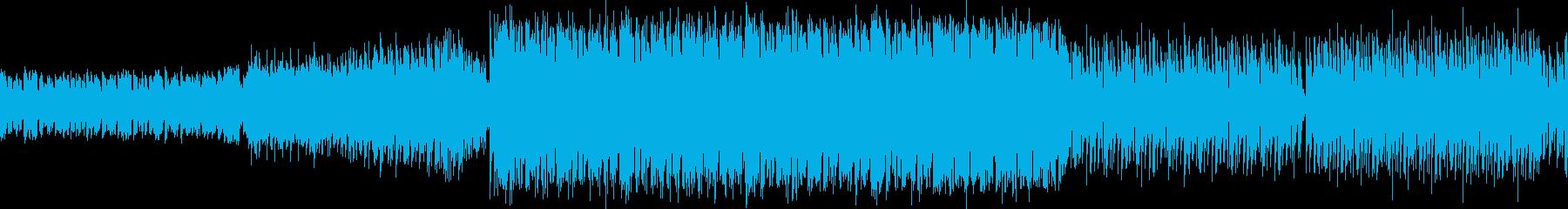 激しい闘志エキサイティングEDM・ループの再生済みの波形