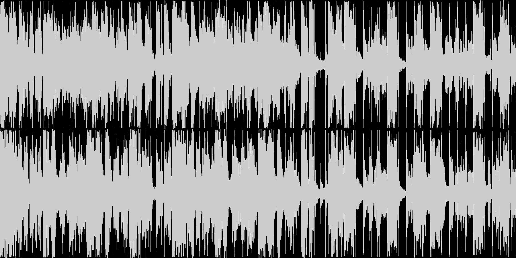 クールでゆったりとしたファンクトラックの未再生の波形