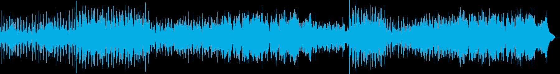 レトロて温もり感じるワルツの再生済みの波形