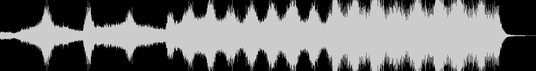 アンデッド・血生臭いホラーを演出 A3の未再生の波形