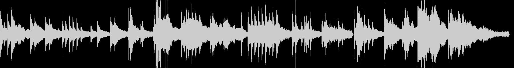 ヒーリングピアノ組曲 まどろみ 3の未再生の波形