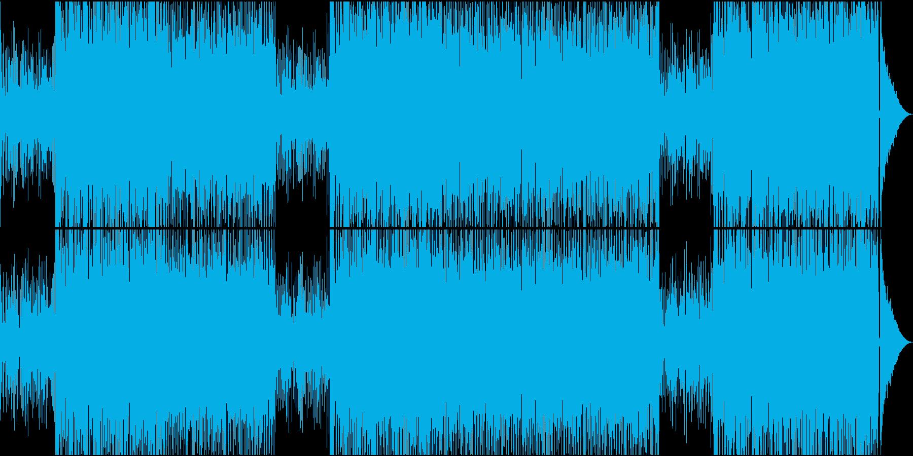 映像用ギターアドリブが楽しいボサノバの再生済みの波形