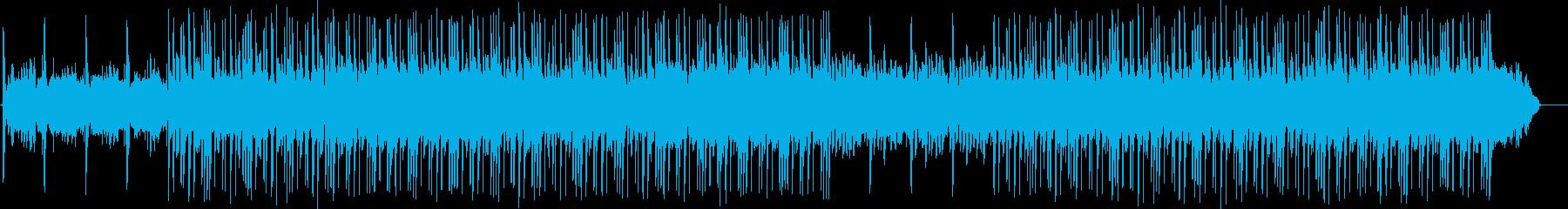 さわやかな雰囲気のBGM2の再生済みの波形