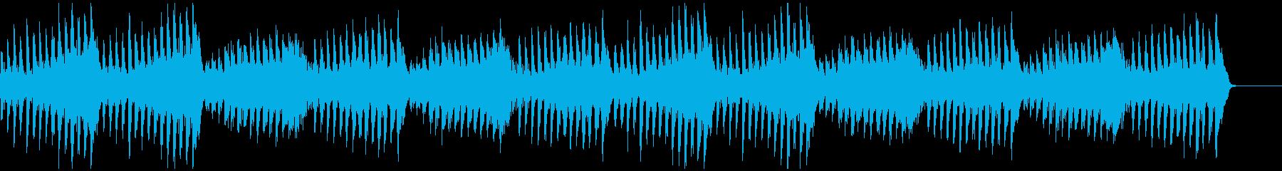 躍動的な『きらきら星』2の再生済みの波形