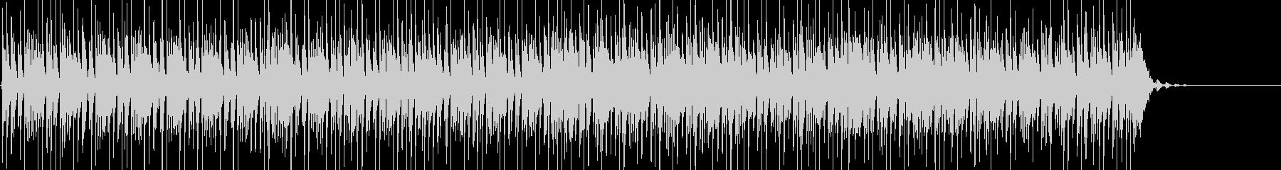 ピアノロック、おしゃれなブルースBGMの未再生の波形