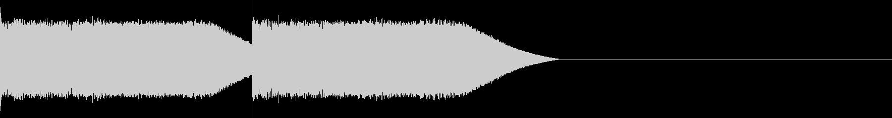 ピコピコ! の未再生の波形