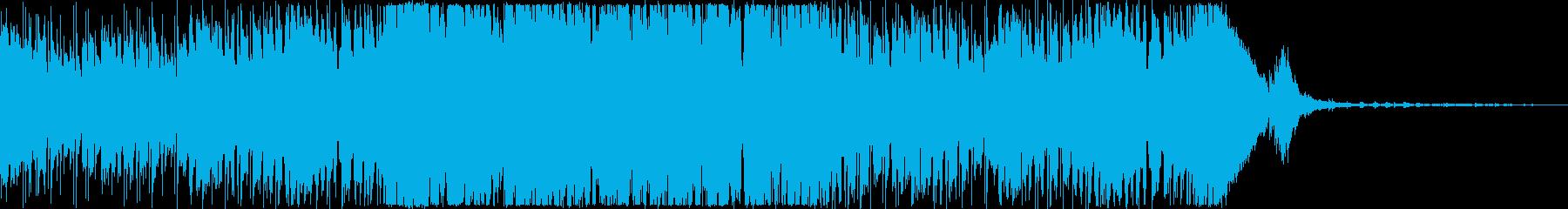 わくわく・オープニング・楽しい・ファンクの再生済みの波形